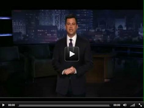 Jimmy Kimmel Live - Click to View Video Clip - Senate Jobs Bill Vote